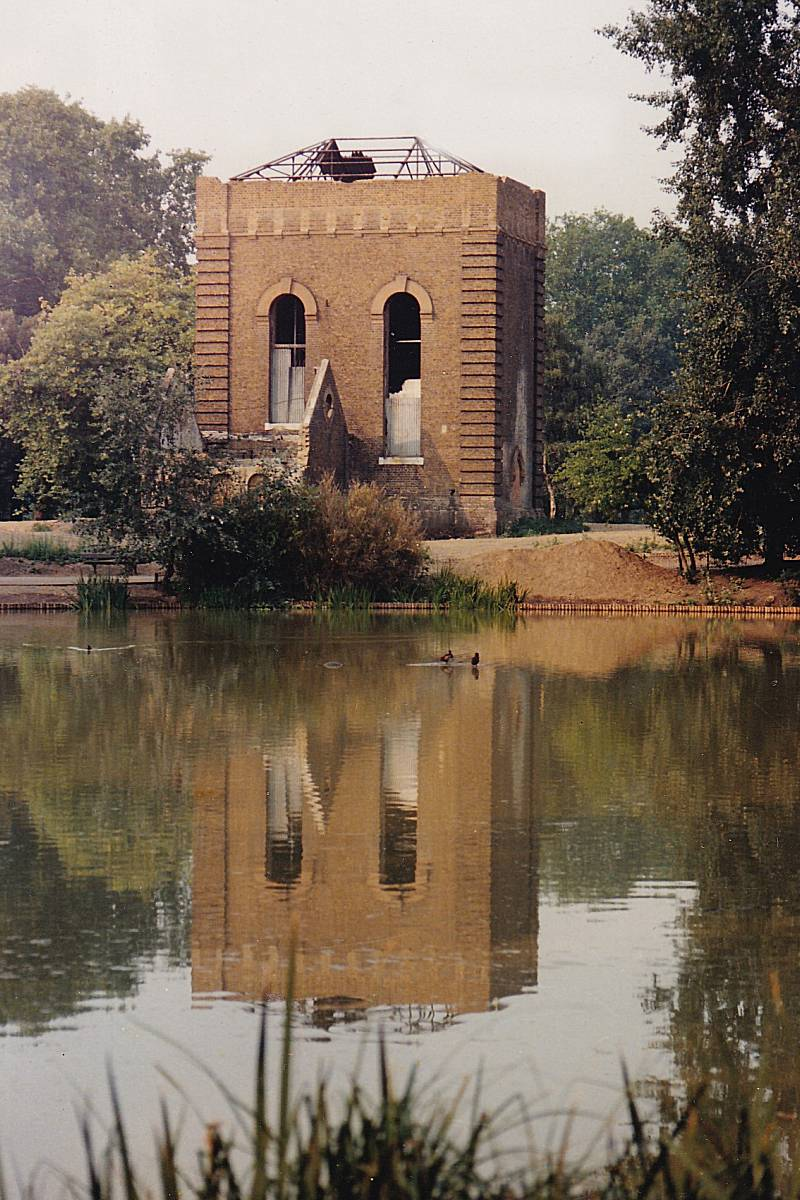 Now the Pump House Gallery in Battersea Park London UK